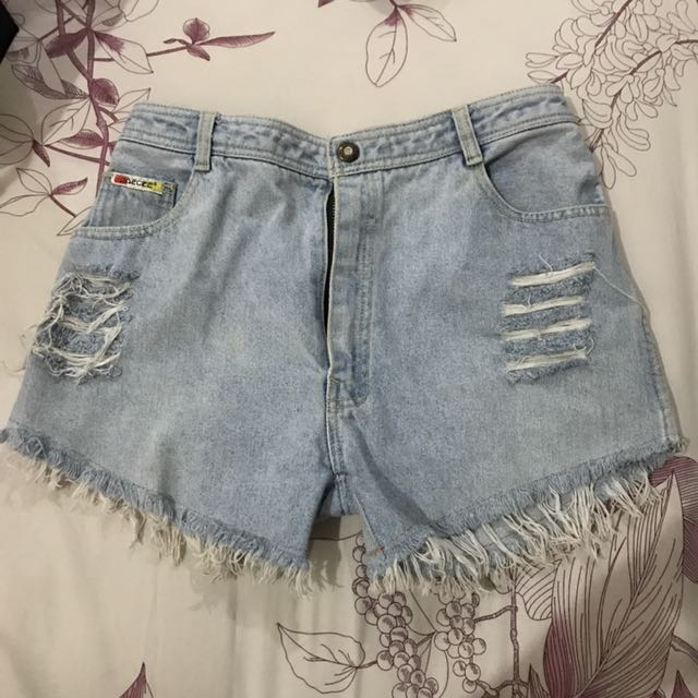 Preloved Denim Short
