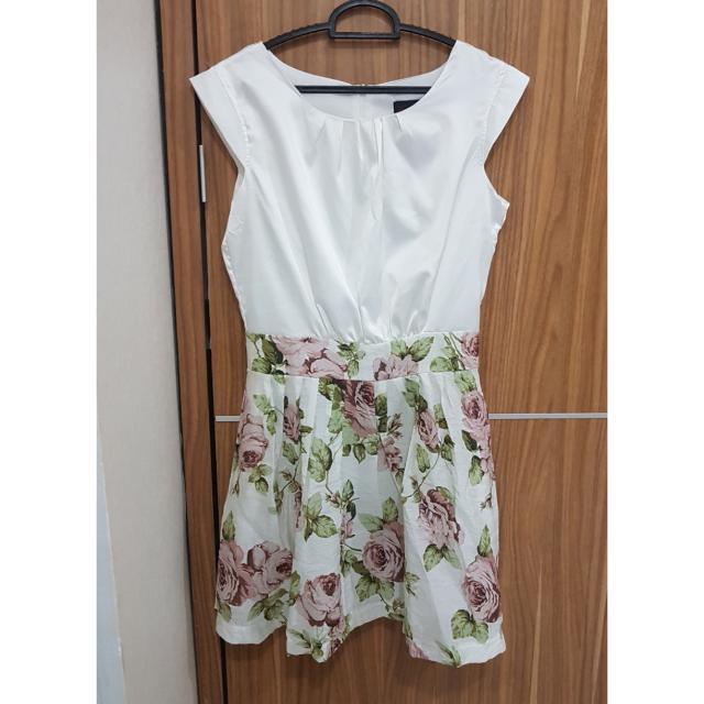 preloved dress bunga2