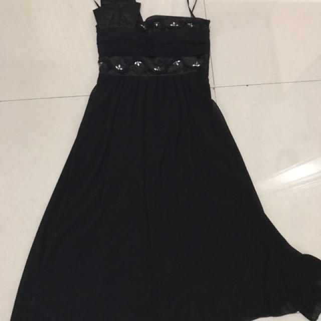 PRELOVED/SECOND/SEKEN/BEKAS gaun mini hitam