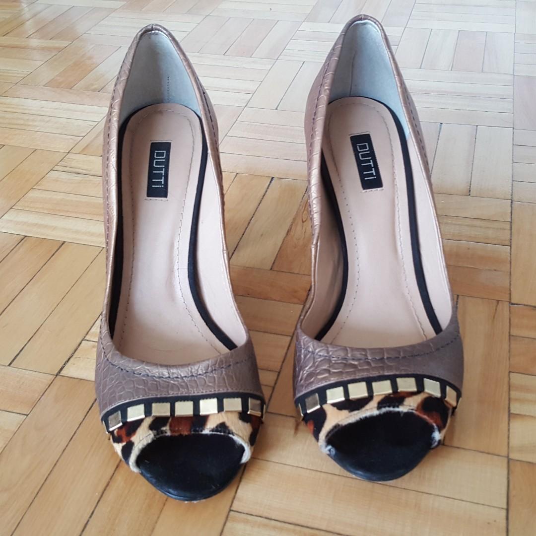 Printed heels