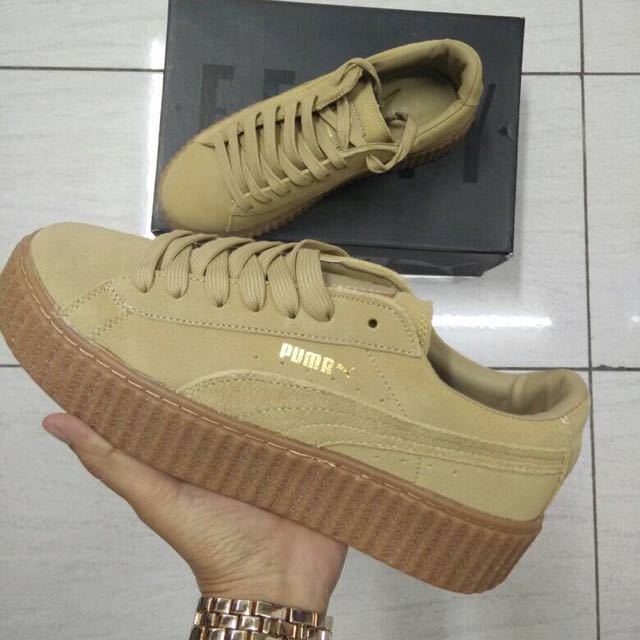 buy popular dd86c 29005 PUMA x Rihanna Suede Creeper