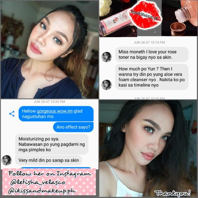 ROSE TONER FEEDBACKS