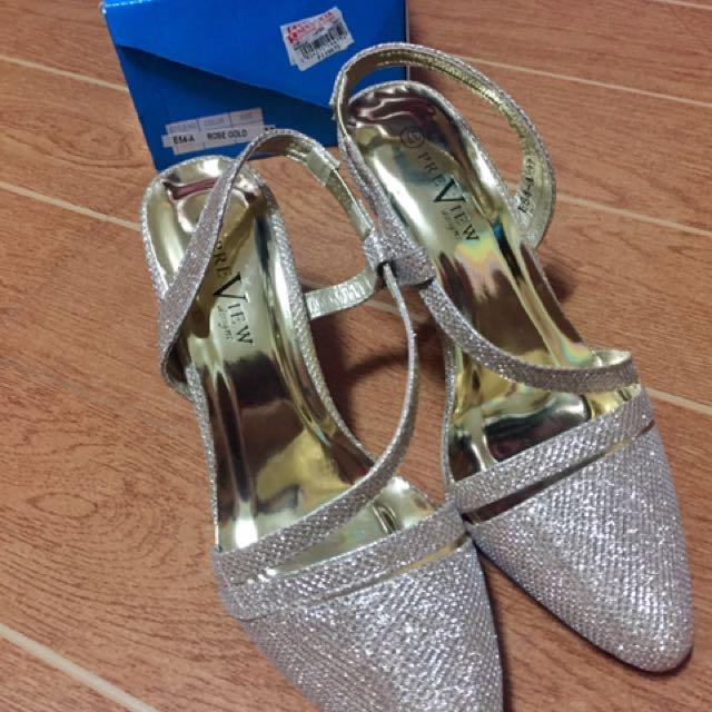 Rosegold Sandals