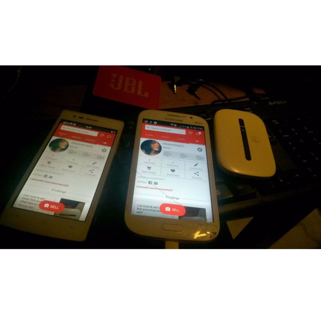 Samsung Grand Neo & Oppo 1201 & Huawei Pocket Eifi