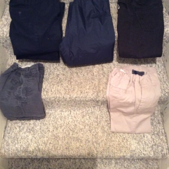 Selling A Variety Of Size 5 And Six And Size 12 Slacks And Shirts