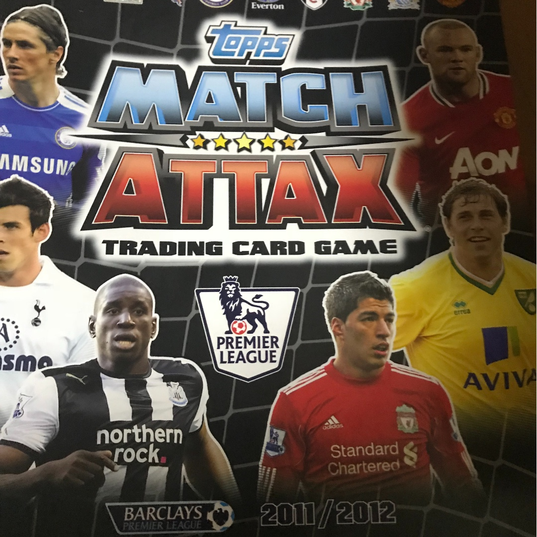 Selling my Match Attax collection binder