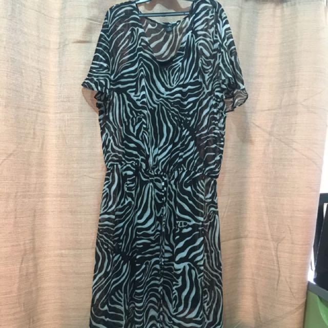 Semiformal Chiffon Dress
