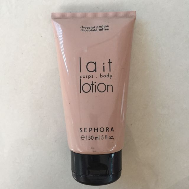 Sephora lait corps body lotion Chocolate