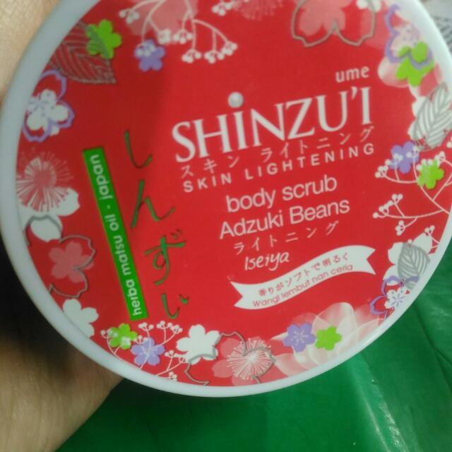 Shinzui Body Scrub Adzuki Beans (Lulur)