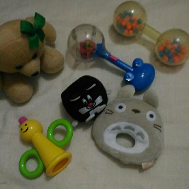 Soft toys/rattle