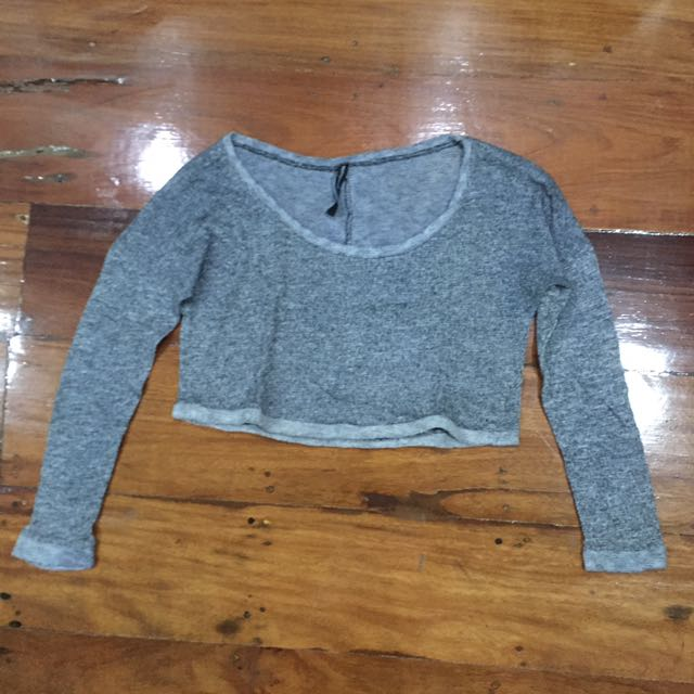 Stradivarius Cropped Knit Sweater