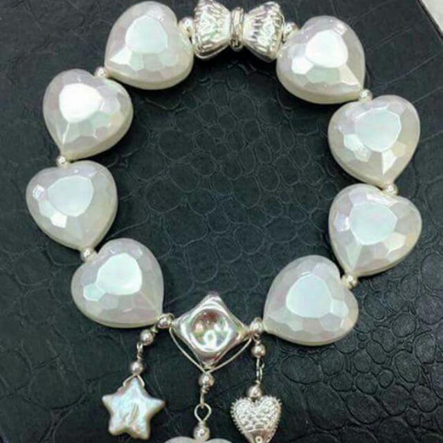 Swarovski Heart Pearl
