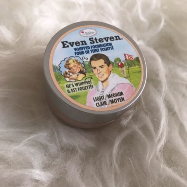 The Balm Even Steven Whipped