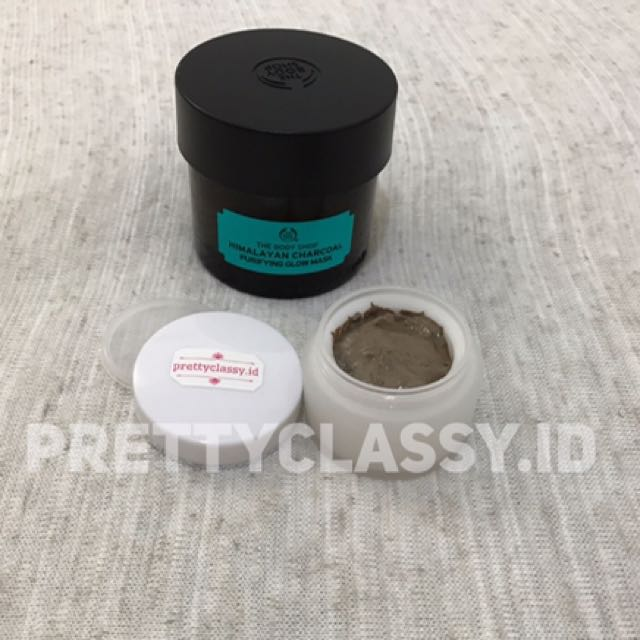 The Body Shop - Himalayan Charcoal Purifying Mask (Share In Jar 10gr)