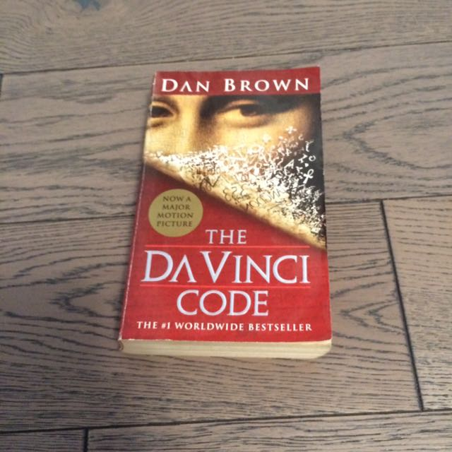 REDUCED PRICE UNTIL AUGUST 20 | The DaVinci Code- Dan Brown Paperback
