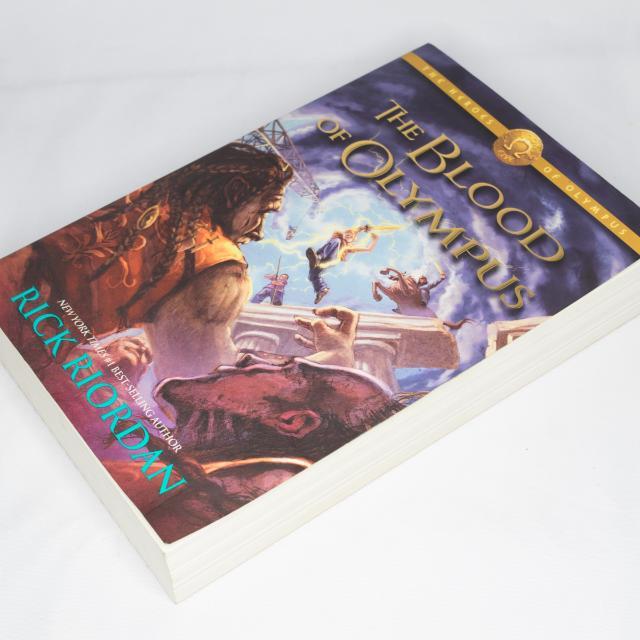 The Heroes Of Olympus: The Blood of Olympus, Book 5
