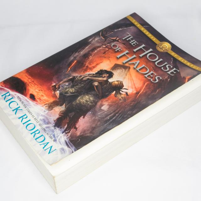 The Heroes Of Olympus: The House Of Hades, Book 4