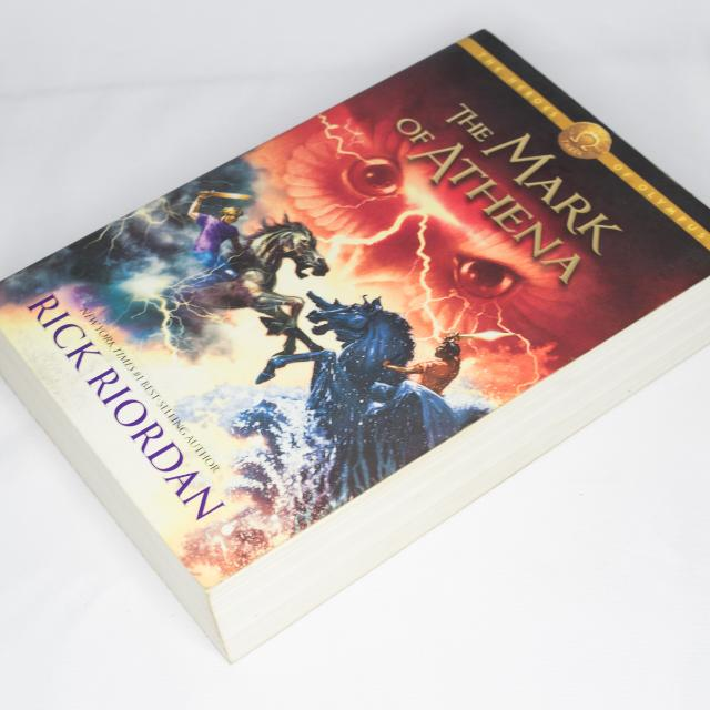 The Heroes Of Olympus: The Mark Of Athena, Book 3