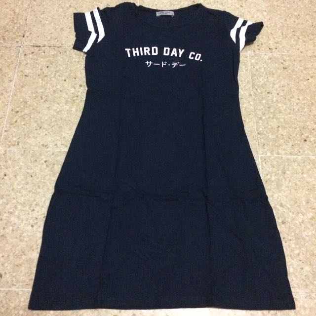Third Day Co Navy Dress
