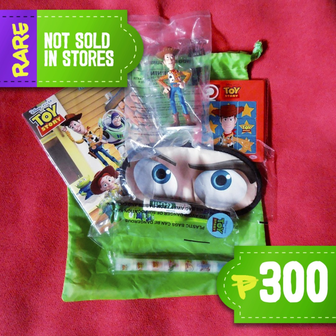 Toy Story PAL Junior Jetsetter's Kit Circa 2013