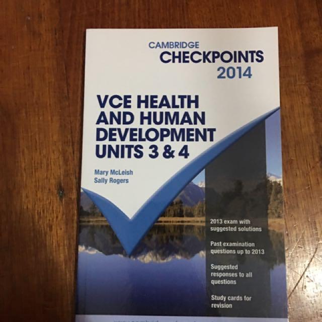 VCE TEXT BOOKS