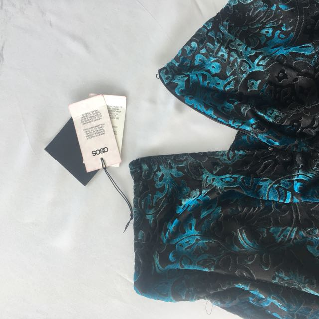 Velour Patterned Shorts