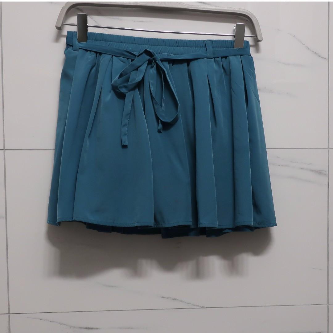 Velvet Skirt w/ Tie