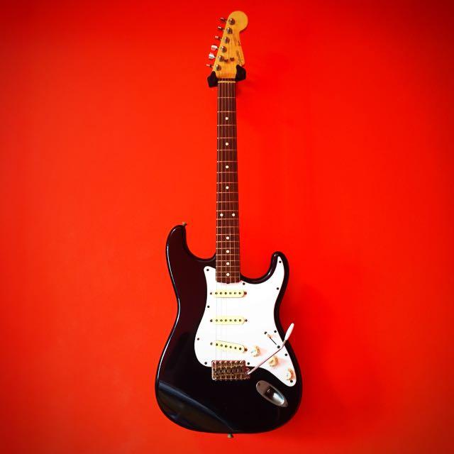 Vintage MIJ 80's Squier By Fender Stratocaster Guitar