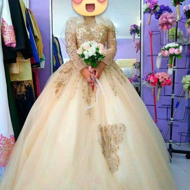 Wedding Gown (for Rent), Women\'s Fashion, Bridal Wear on Carousell