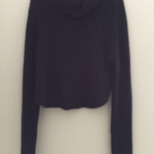 Wrangler Navy Knit