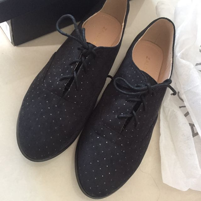 Zalora Black Studed Shoe