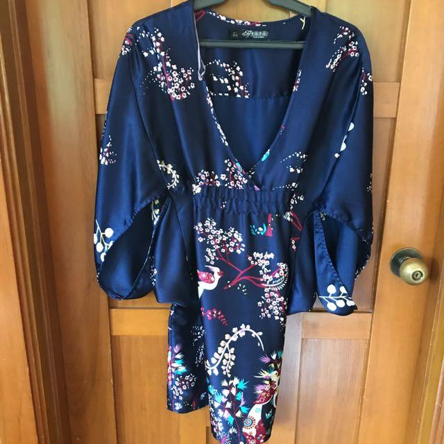 Zara Long Kimono Top