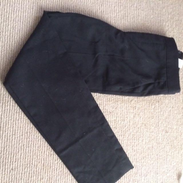 Zara Tailored Black Pants