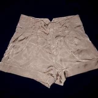 Nude Pink Silk Short