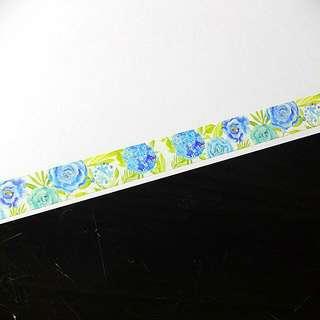 繡球花和紙膠帶w
