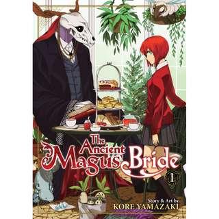 Mahoutsukai no Yome manga