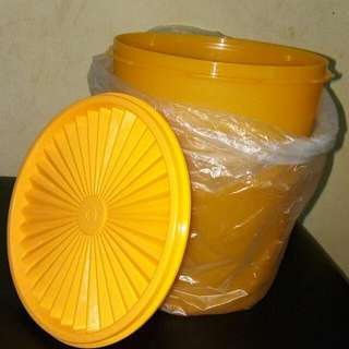 Tupperware Deco Canister