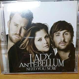 懷舊女郎-想念你(國際加值版)專輯 LADY ANTEBELLUM-NEED YOU NOW CD