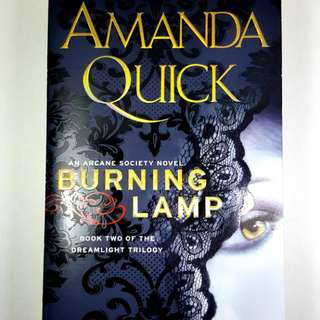 The BURNING LAMP