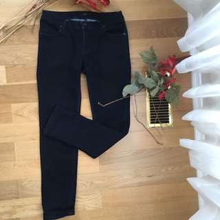Dark Blue Stretchy Jeans