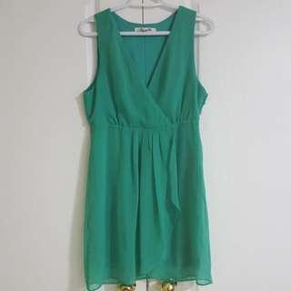 My F21 Mini Green Dress