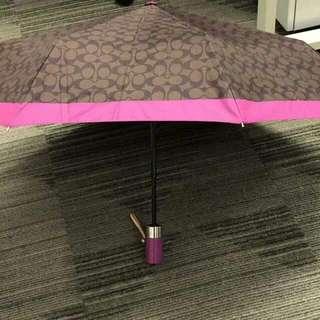 Brandnew Authentic Coach Umbrella