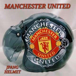 Jpang Manchester United Helmet..😎!!