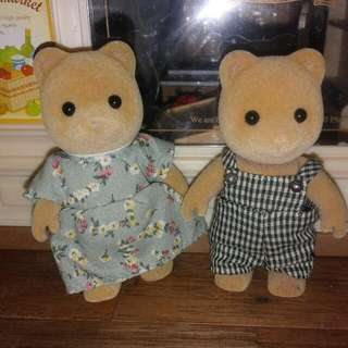 Sylvanian Families Bear Figure