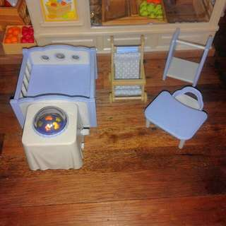 Sylvanian Blue Baby Accessories