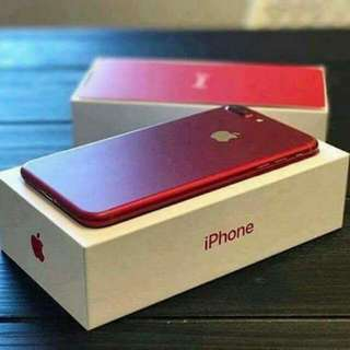 Apple iPhone 7 Plus Red Color