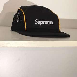 🔥SUPREME mesh side 5 Panel Race Hat 🔥