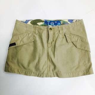 Genevieve Khaki Skirt