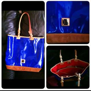 Dooney&Bourke Royal Blue Tote