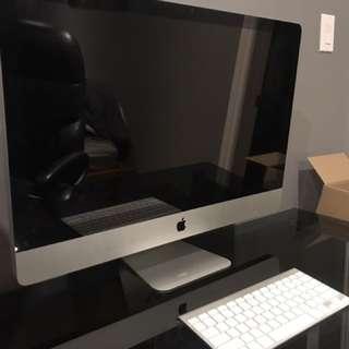 "27"" 16:9 widescreen iMac 1TB Comes w/ Box and Keyboard"